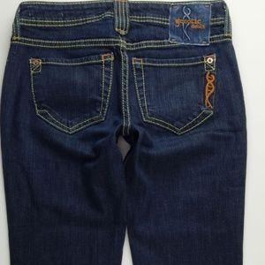 Genetic Denim Recessive Gene Jeans 27 Womens C167P